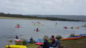 Junior Paddling Activity