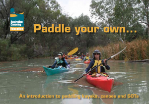 Paddle on your own